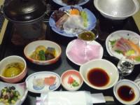 秋保温泉のお料理