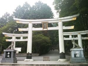 三峰神社 鳥居